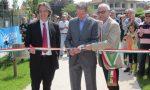 Quando Felice Gimondi inaugurò la pista ciclabile di Calusco FOTO