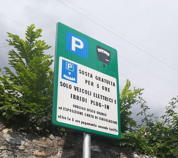 Lecco Parcheggi verdi