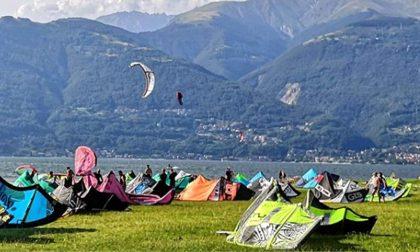 Malore sul kitesurf: è morto il 60enne soccorso a Colico