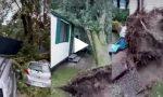 Raffiche di vento e pioggia sferzante: notte da incubo nel Lecchese FOTO E VIDEO