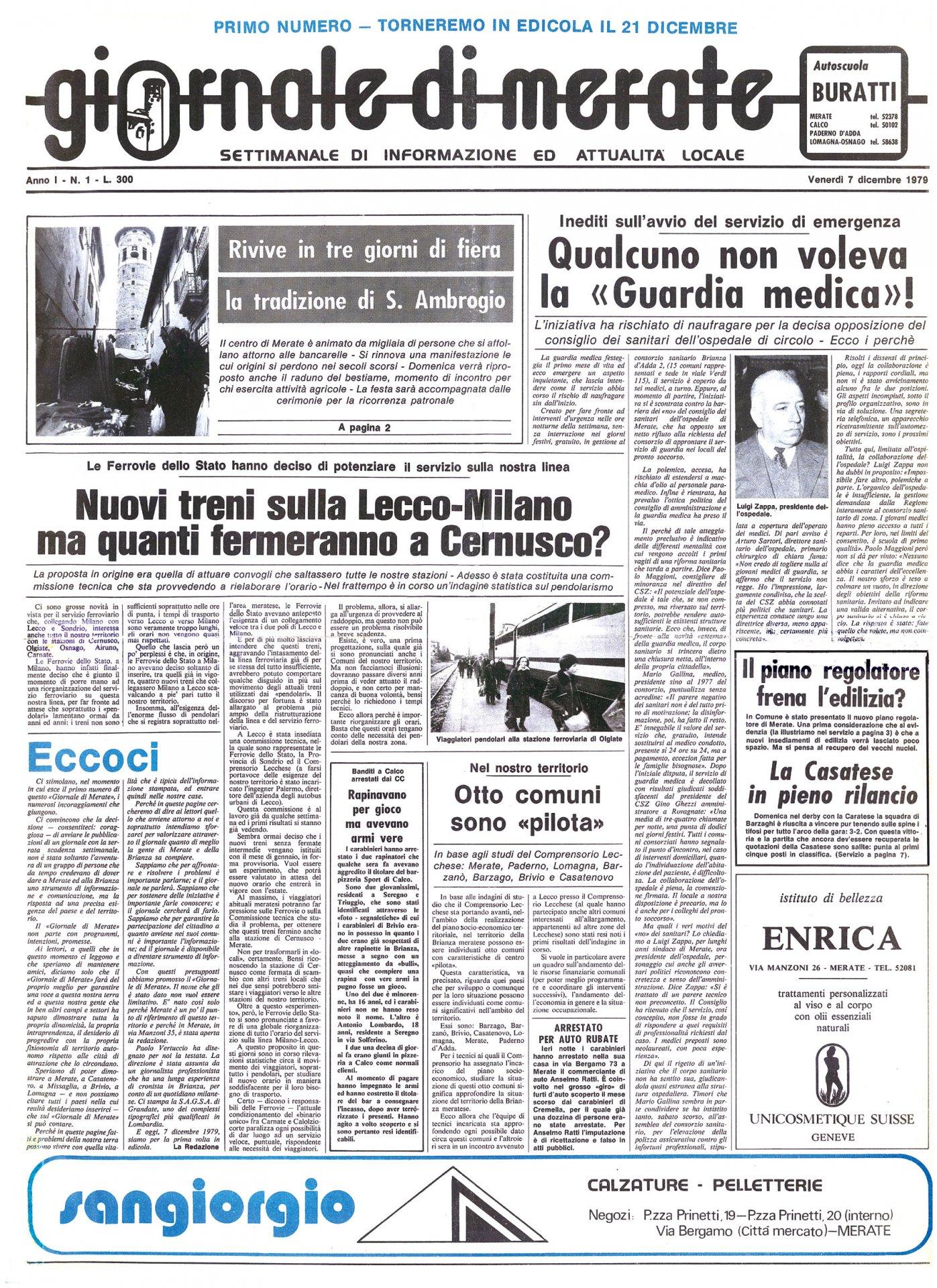 Amica Compie 40 Anni il giornale di merate compie 40 anni: stasera l'evento al