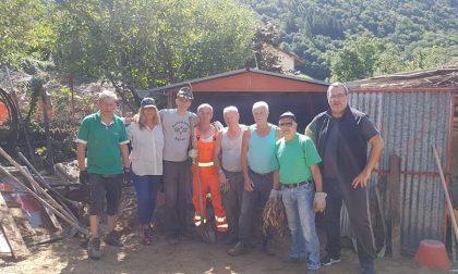 Maltempo, il sindaco di Merate tra i volontari a Casargo