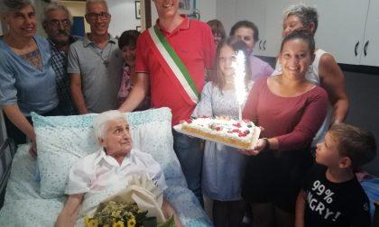Festa a sorpresa per la 107enne Chiara Rigamonti FOTO