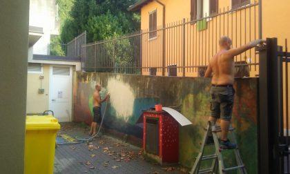 """Lavori in corso alla scuola primaria """"F. Filzi"""" di Bonacina"""