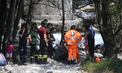 Domenica da bollino rosso nell'Adda: tre persone soccorse FOTO