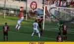 Esordio amaro per il Lecco in Serie C: blucelesti sconfitti 3 a 1 sul campo dell'Arezzo
