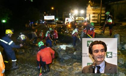 """Frana di Casargo, il Governatore Fontana: """"Vicini alla comunità Lecchese"""""""