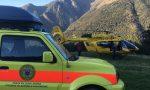 Fungiat cade e si ferisce in montagna: soccorritori al lavoro 4 ore per recuperarlo FOTO