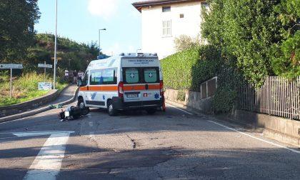 Tragico schianto moto furgone: 17enne gravissimo FOTO