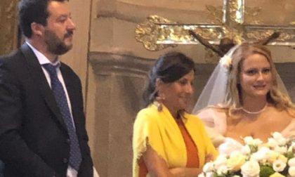 Matteo Salvini testimone di nozze nell'Erbese: ecco chi è la sposa