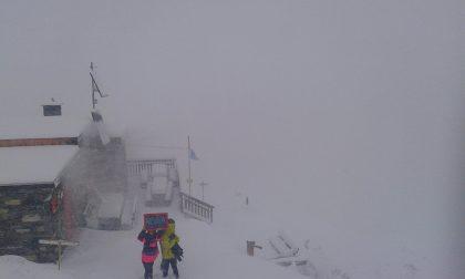 Boccata di neve per i ghiacciai, ma durerà poco