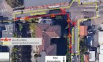 Lecco: percorsi pedonali modificati in via Amendola e via Ghislanzoni