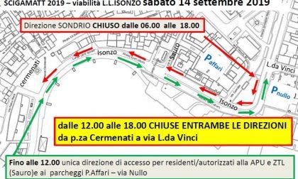 Domani si corre la Scigamatt: ecco tutte le strade chiuse