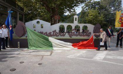 Inaugurata la barriera anti intrusione ad immagine del Monastero del Lavello FOTO
