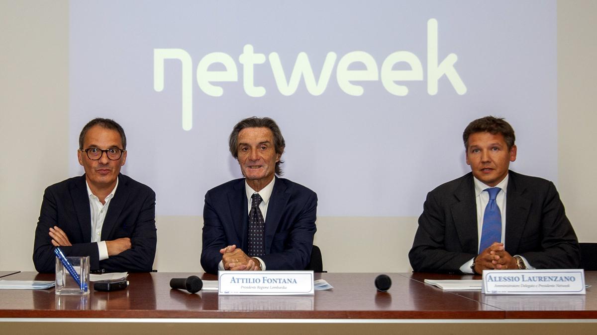 """Presidente Fontana in sede Netweek: """"Conte si è dimenticato il Nord"""""""