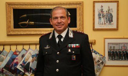 Il colonnello Del Gaudio si congeda da Lecco