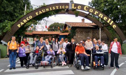 Benefattore regala ai disabili una giornata al Parco delle Cornelle FOTO