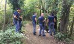 Poliziotti nel bosco della droga: beccato uno spacciatore FOTO