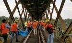 Si smontano i ponteggi: chiude il Ponte di Paderno