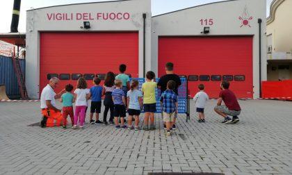La caserma dei Vigili del fuoco di Merate off limits per i bambini