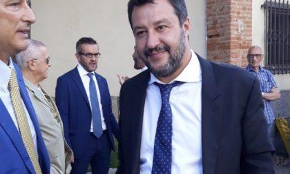 Sorpresa, Matteo Salvini spunta a un matrimonio in Brianza