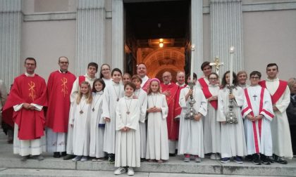 La comunità pastorale Madonna del Rosario ha salutato don Paolo