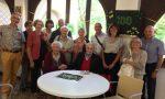 Auguri centenari per  Mario Angioletti agli Istituti Airoldi e Muzzi FOTO