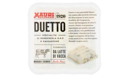 """Listeria nel gorgonzola e mascarpone """"Duetto"""" Mauri prodotto in Valsassina"""