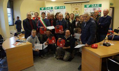 Olginate, inaugurati quattro nuovi defibrillatori FOTO