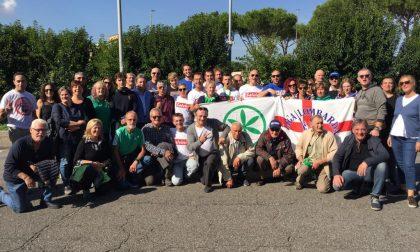 Leghisti lecchesi alla manifestazione di Roma (FOTO)