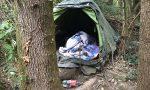 """Santa Maria Hoè: un vero e proprio """"villaggio della droga"""" nel bosco"""
