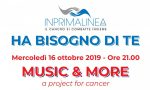 "Inprimalinea Onlus presenta ""Music & More – A project for cancer"""