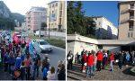Oggi lavoratori in sciopero negli ospedali di Lecco, Merate, Bellano VIDEO E FOTO DELLE MANIFESTAZIONI
