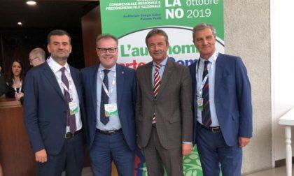 I lecchesi Brivio e Valsecchi all'assemblea di Anci a Milano