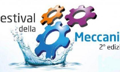 """Al via il Festival della Meccanica 2019 """"Sostenibile come l'acqua"""""""
