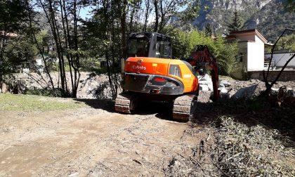 Rischio idrogeologico, lavori sul torrente Grigna
