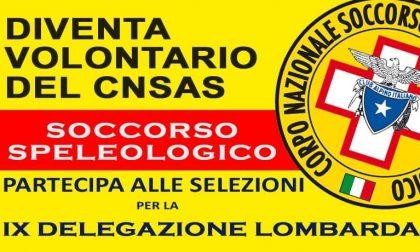 Diventa volontario del CNSAS: aperte le selezioni per aspiranti soccorritori speleologici
