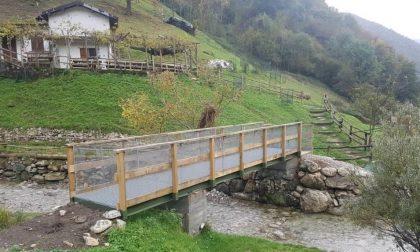 Si inaugura la passerella pedonale sul torrente Gallavesa
