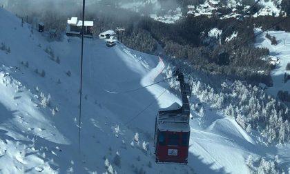 Neve in quota, situazione degli impianti in Valtellina e Valchiavenna FOTO