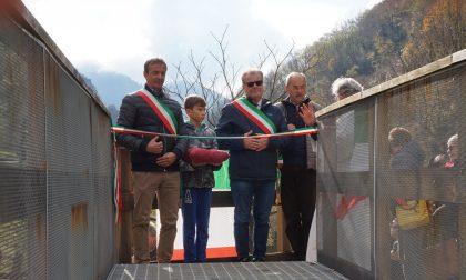 Erve, inaugurata la nuova passerella sul Gallavesa FOTO