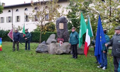Ad Osnago gli Alpini onorano il 4 novembre FOTO