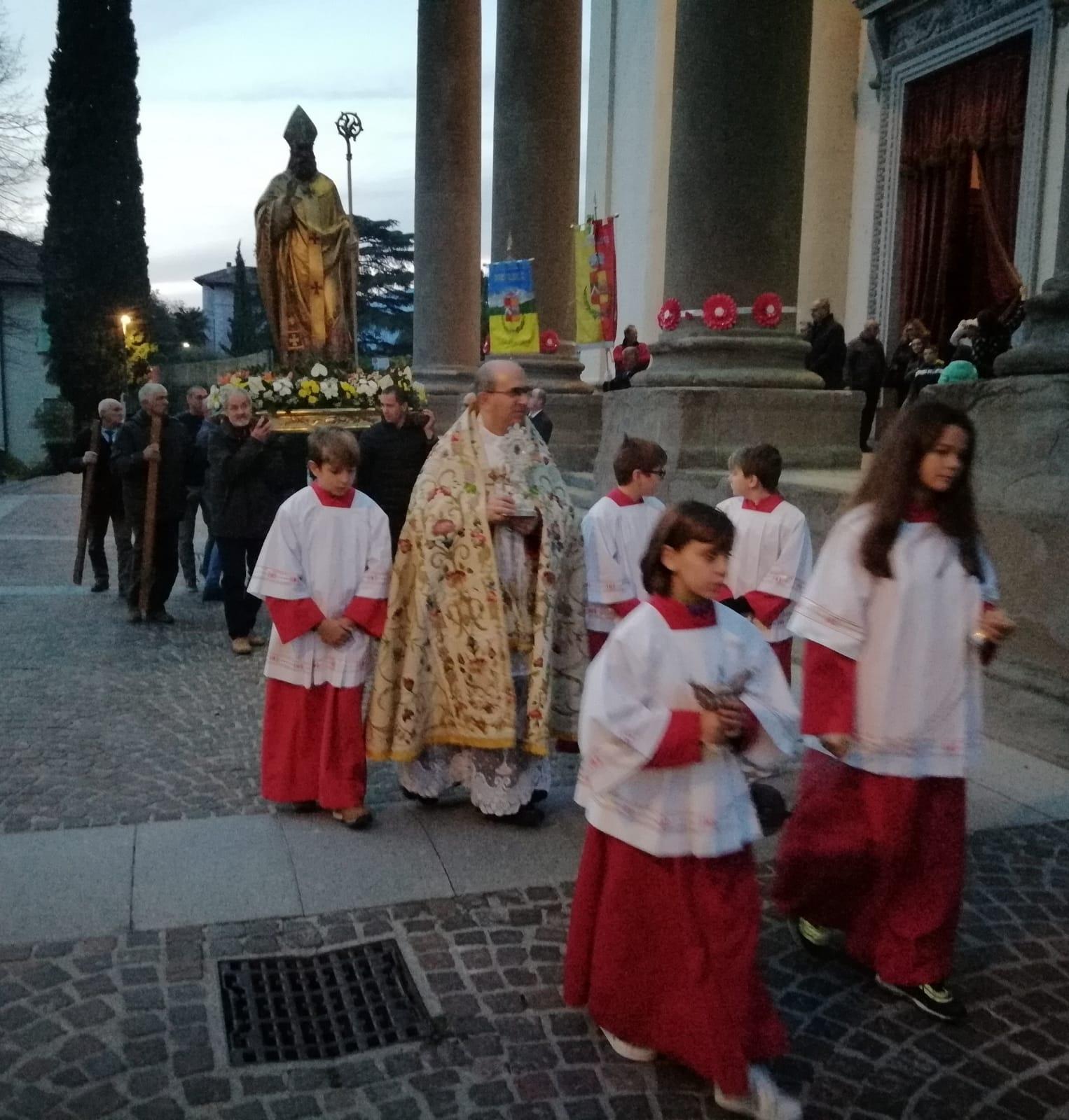 Calolziocorte festeggia il suo patrono San Martino FOTO