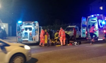 Incidente auto moto a Olginate, lunghe code sulla provinciale