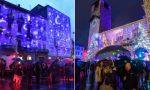 Le luminarie natalizie accendono la rivalità tra Lecco e Como FOTO e VIDEO