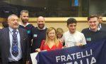 Fratelli d'Italia Lecco a Bruxelles per protestare contro il MES FOTO