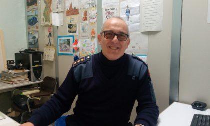 In pensione Graziano Sala, il vigile amico dei bambini