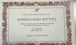 """Premio """"Costruiamo il Futuro"""" per Daniela Rosa Rottoli"""