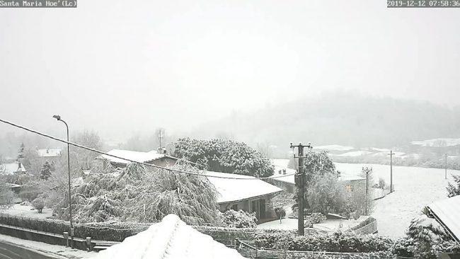 """Domani neve sul Lecchese, anche in pianura (ma non sarà """"Big snow"""") PREVISIONI METEO"""