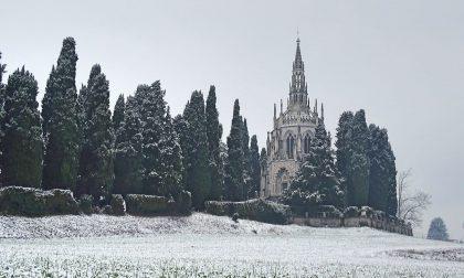 Secondo giorno di neve in Brianza FOTO