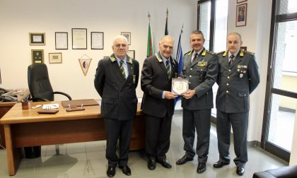 Il comandante regionale della Guardia di Finanza in visita a Lecco